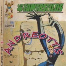 Cómics: LOS 4 FANTASTICOS, EDITORIAL VERTICE, V.1 N. 57, EL SECRETO DE LOS ETERNOS. Lote 35915800