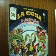 Cómics: SUPER HEROES LA COSA Y LA BRUJA ESCARLATA / V. VOL. 2 Nº 131 / VÉRTICE. Lote 35991448