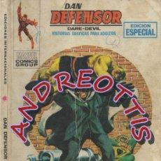 Cómics: DAN DEFENSOR (DARE-DEVIL), EDITORIAL VERTICE, V.1 N. 12, LUCHA IMPOSIBLE. Lote 36057205