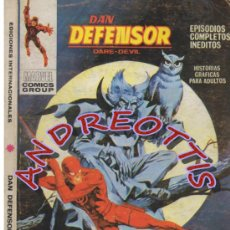 Cómics: DAN DEFENSOR (DARE-DEVIL), EDITORIAL VERTICE, V.1 N. 34, VUELVE EL MOCHUELO. Lote 36058478