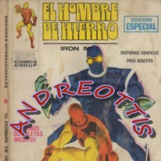 Cómics: EL HOMBRE DE HIERRO (IRON MAN), VERTICE VOLUMEN 1, N. 6, LA NOCHE DEL FANTASMA. Lote 36127694