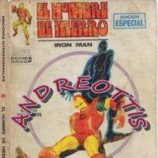 Cómics: EL HOMBRE DE HIERRO (IRON MAN), VERTICE VOLUMEN 1, N. 8, EL PRECIO DE UNA VIDA. Lote 36127835