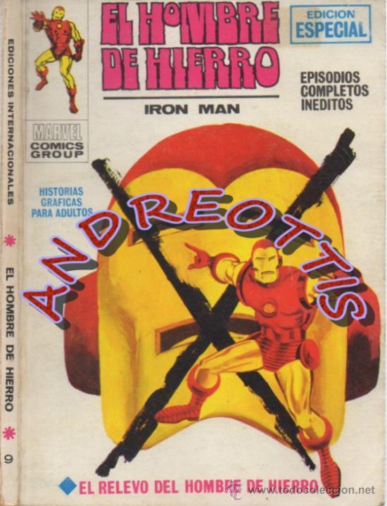 EL HOMBRE DE HIERRO (IRON MAN), VERTICE VOLUMEN 1, N. 9, EL RELEVO DEL HOMBRE DE HIERRO (Tebeos y Comics - Vértice - Hombre de Hierro)