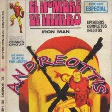 Cómics: EL HOMBRE DE HIERRO (IRON MAN), VERTICE VOLUMEN 1, N. 9, EL RELEVO DEL HOMBRE DE HIERRO. Lote 36127874