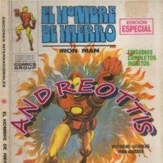 Cómics: EL HOMBRE DE HIERRO (IRON MAN), VERTICE VOLUMEN 1, N. 11, EL INCENDIARIO. Lote 36127921