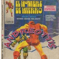 Cómics: EL HOMBRE DE HIERRO (IRON MAN), VERTICE VOLUMEN 1, N. 13 EL SEÑOR DE LOS MONSTRUOS. Lote 36128040