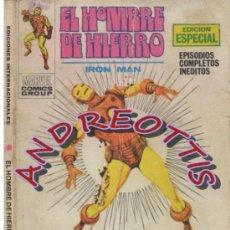 Cómics: EL HOMBRE DE HIERRO (IRON MAN), VERTICE VOLUMEN 1 N. 16 VENGANZA. Lote 36128263