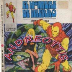 Cómics: EL HOMBRE DE HIERRO (IRON MAN), VERTICE VOLUMEN 1 N. 26 JUEGO DE MUERTE. Lote 36128496