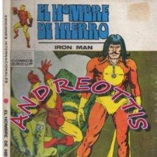 Cómics: EL HOMBRE DE HIERRO (IRON MAN), VERTICE VOLUMEN 1 N. 27 RAGA EL HIJO DEL FUEGO. Lote 36128579
