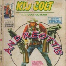 Cómics: KID COLT (KID COLT OUTLAW), VERTICE, V.1 N. 9 DOS REVOLVERES MAGICOS. Lote 36131116