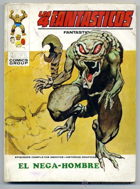 LOS 4 FANTÁSTICOS NUM 54 - EL NEGA-HOMBRE (Tebeos y Comics - Vértice - 4 Fantásticos)