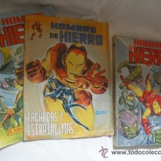 Cómics: EL HOMBRE DE HIERRO SURCO CASI COMPLETA 6 DE 7 NºS ED. VÉRTICE 1983 - IRON MAN -. Lote 36280717