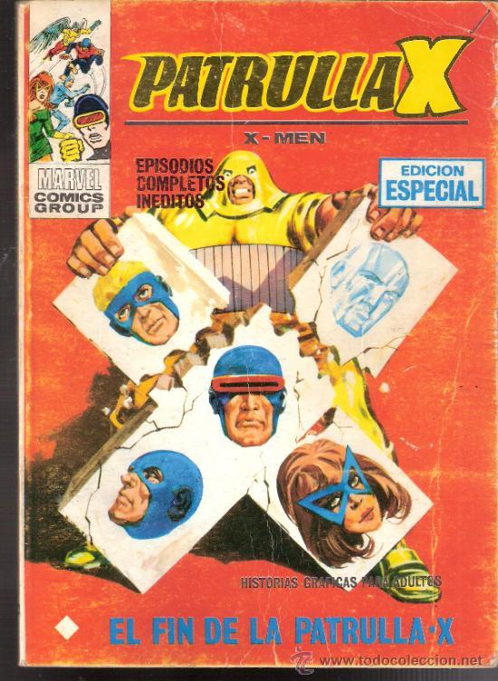 PATRULLA X. X-MEN. EL FIN DE LA PATRULLA X. Nº 20. VÉRTICE. MARVEL. 1ª EDICIÓN 1969. (Tebeos y Comics - Vértice - Patrulla X)