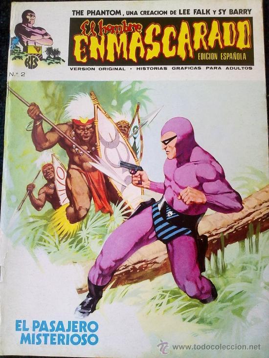 EL HOMBRE ENMASCARADO Nº 2 (Tebeos y Comics - Vértice - Hombre Enmascarado)