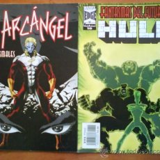 Cómics: DOS COMICS MARVEL : HULK - ARCÁNGEL. Lote 36413988