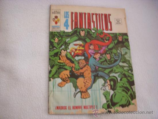 LOS 4 FANTASTICOS Nº 22 VOLUMEN 2, EDITORIAL VÉRTICE (Tebeos y Comics - Vértice - 4 Fantásticos)