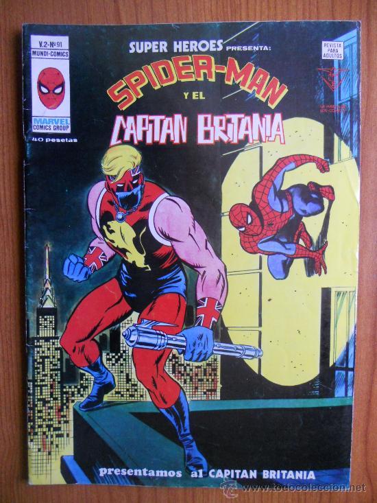 VERTICE SUPER HEROES V2 Nº91 (Tebeos y Comics - Vértice - Super Héroes)