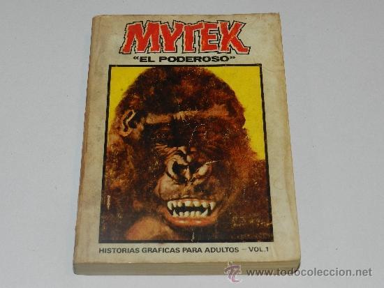 (M-1) MYTEX EL PODEROSO NUM 1 , EDICION ESPECIAL , EDC VERTICE, SEÑALES DE USO (Tebeos y Comics - Vértice - Grapa)