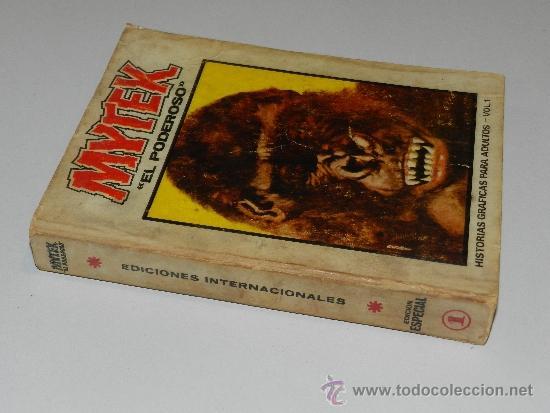 Cómics: (M-1) MYTEX EL PODEROSO NUM 1 , EDICION ESPECIAL , EDC VERTICE, SEÑALES DE USO - Foto 2 - 36574956