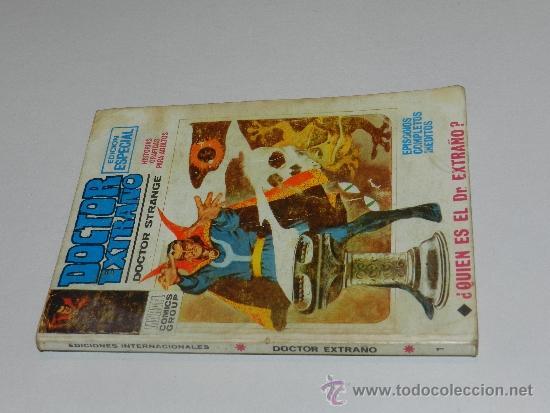 Cómics: (M-1) DOCTOR EXTRAÑO NUM 1 EDICION ESPECIAL, EDC VERTICE, SEÑALES DE USO - Foto 2 - 36575342