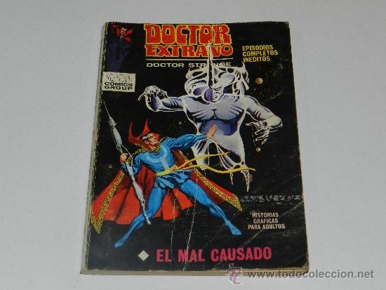 (M-1) DOCTOR EXTRAÑO NUM 9 , EDC VERTICE, SEÑALES DE USO (Tebeos y Comics - Vértice - Grapa)