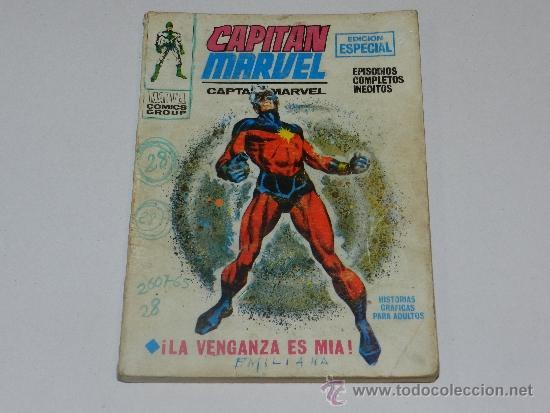 (M-1) CAPITAN MARVEL NUM 7, EDICION ESPECIAL, EDC VERTICE, SEÑALES DE USO (Tebeos y Comics - Vértice - Grapa)