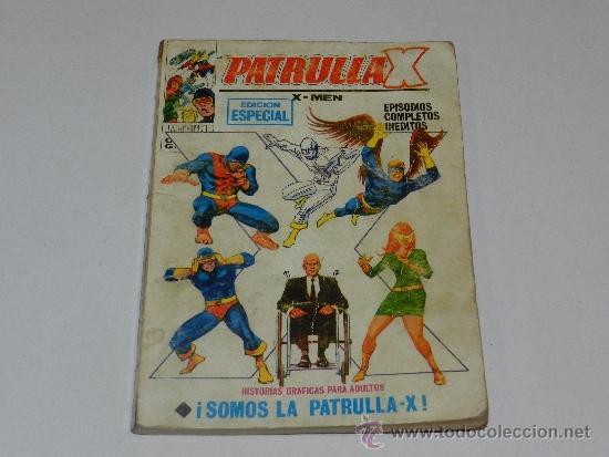 (M-1) PATRULLA X NUM 32, EDICION ESPECIAL, EDC VERTICE, SEÑALES DE USO (Tebeos y Comics - Vértice - Patrulla X)
