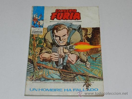 (M-1) SARGENTO FURIA NUM 11, EDC VERTICE, SEÑALES DE USO (Tebeos y Comics - Vértice - Furia)