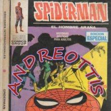 Cómics: SPIDERMAN EL HOMBRE ARAÑA, EDITORIAL VERTICE, V.1, N. 7, KRAVEN EL CAZADOR.. Lote 36741945