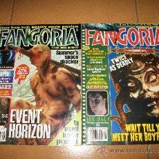 Cómics: FANGORIA – REVISTA DE TERROR – EDICION USA - #165 Y 172 – EVENT HORIZON . Lote 36804677