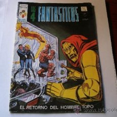 Cómics: LOS 4 FANTASTICOS - EL RETORNO DEL HOMBRE TOPO - V.3 Nº 11.. EDICIONES VERTICE 1978.. Lote 37325066
