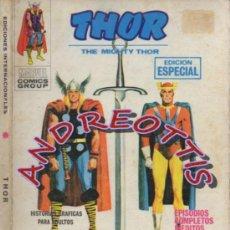 Cómics: THOR (THE MIGHTY THOR), EDITORIAL VERTICE, V.1 N. 9, LA ESPADA ENVAINADA. Lote 36894451