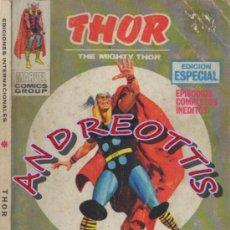 Cómics: THOR (THE MIGHTY THOR), EDITORIAL VERTICE, V.1 N. 12, TODOS CONTRA MI. Lote 36894506