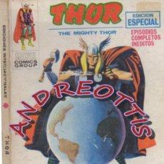 Cómics: THOR (THE MIGHTY THOR), EDITORIAL VERTICE, V.1 N. 15, EL MUNDO ENLOQUECIDO. Lote 36908143