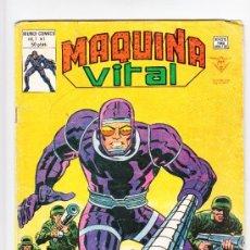 Cómics: MÁQUINA VITAL EL HOMBRE MÁQUINA. Lote 36960316