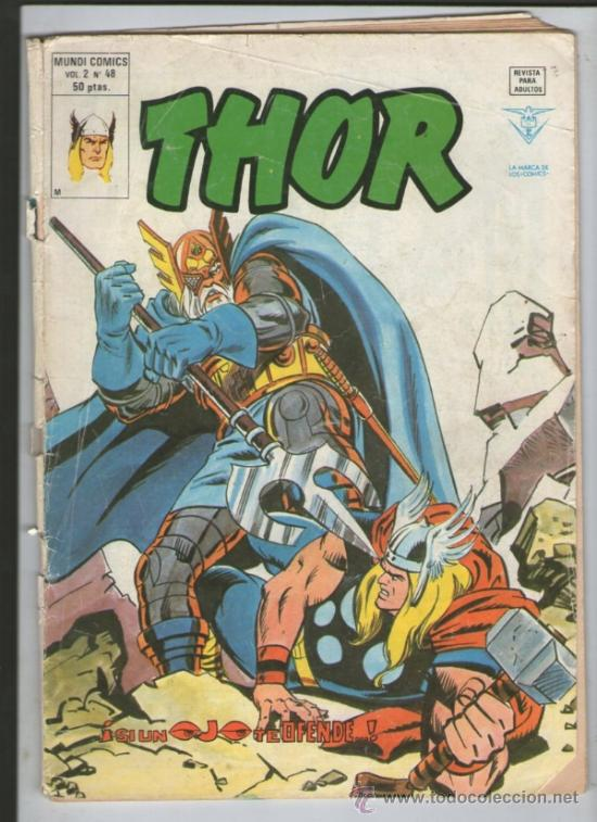 THOR VERTICE V2 Nº 48.MUNDICOMICS.VERTICE (Tebeos y Comics - Vértice - Thor)