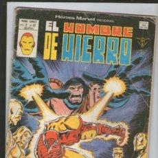 Cómics: HEROES MARVEL PRESENTA EL HOMBRE DE HIERRO V.2 Nº61.MUNDICOMICS. Lote 37068870