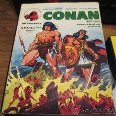 Cómics: CONAN - VÉRTICE - ANUAL 80. Lote 37082117