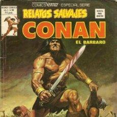 Cómics: CONAN EL BÁRBARO VOLUMEN 1 Nº 80 RELATOS SALVAJES EDITORIAL VÉRTICE MARVEL. Lote 37103094