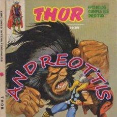 Cómics: THOR (THE MIGHTY THOR), EDITORIAL VERTICE, V.1 N. 22, LA COLERA DEL GUERRERO. Lote 37105003