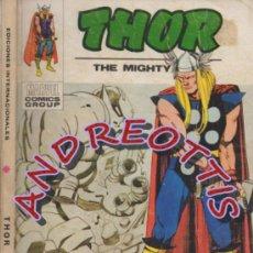 Cómics: THOR (THE MIGHTY THOR), EDITORIAL VERTICE, V.1 N. 30, LA INVASION DEL HOMBRE TERMICO. Lote 37105127