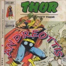 Cómics: THOR (THE MIGHTY THOR), EDITORIAL VERTICE, V.1 N. 42, LOKI PROSCRITO. Lote 37105387