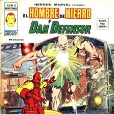 Cómics: HEROES MARVEL PRESENTA VOLUMEN 2 Nº 26 EL HOMBRE DE HIERRO Y DAN DEFENSOR MUNDI-CÓMICS VÉRTICE. Lote 37152647