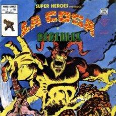 Cómics: SUPER HEROES VOL.2 Nº 114 LA COSA Y HÉRCULES VÉRTICE MARVEL. Lote 37165916