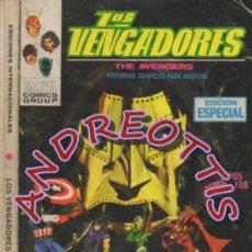 Cómics: LOS VENGADORES (THE AVENGERS), VERTICE, V.1 N. 11 , A MERCED DEL DR. MUERTE.. Lote 37170080