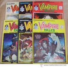 Cómics: ESCALOFRIO 1 10 22 – ED VERTICE – VAMPIRE TALES 1 2 6 - TAMBIÉN SUELTOS. ------ VER ANUNCIO ------. Lote 37204464