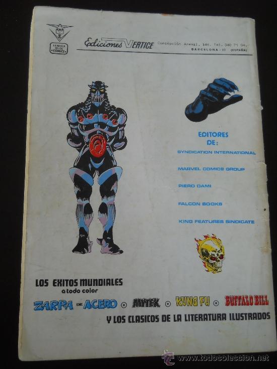 Cómics: KA-ZAR EL SALVAJE Nº 3 - HEROES MARVEL - EDICIONES VERTICE- PERDONAR A DEPHINE - AÑO 1981 - Foto 2 - 37232069