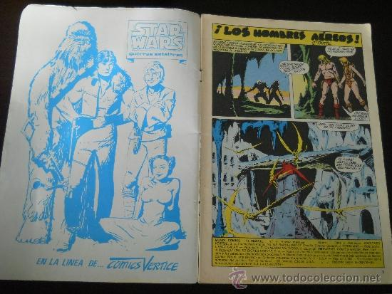 Cómics: KA-ZAR EL SALVAJE Nº 3 - HEROES MARVEL - EDICIONES VERTICE- PERDONAR A DEPHINE - AÑO 1981 - Foto 4 - 37232069