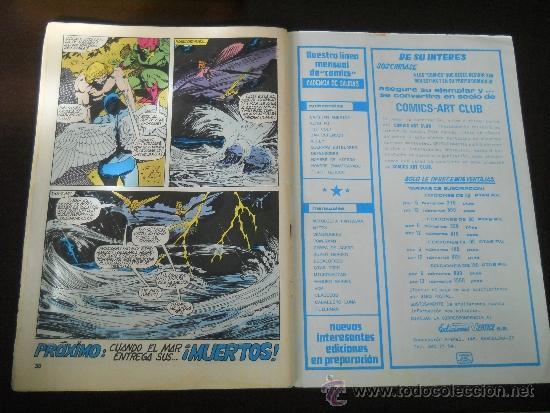 Cómics: KA-ZAR EL SALVAJE Nº 3 - HEROES MARVEL - EDICIONES VERTICE- PERDONAR A DEPHINE - AÑO 1981 - Foto 5 - 37232069