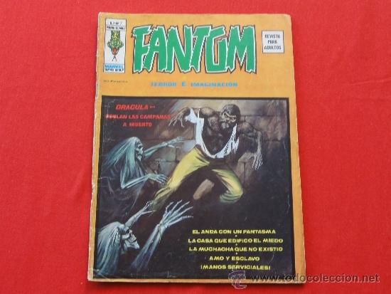 FANTOM VOL. 2 Nº 7. DRACULA (Tebeos y Comics - Vértice - Terror)